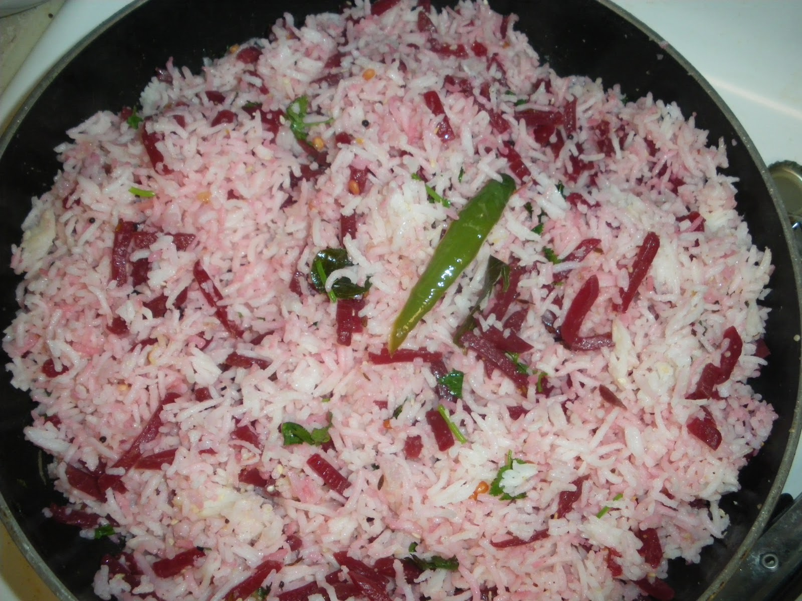 how to cook pink rice