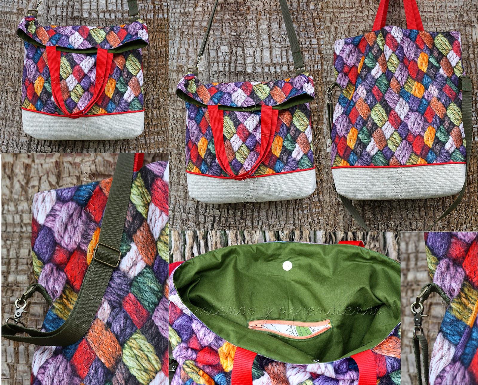 Cosiendo y aprendiendo telas para bolsos coser un bolso 1 - Telas para hacer bolsos ...
