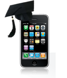 iPod with Graduation Hat