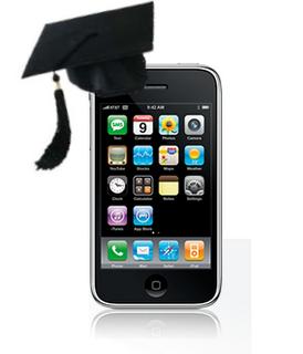 iPod with Graduation Hat