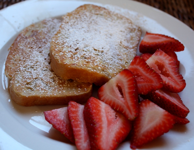 Milk and Honey French Toast recipe by Barefeet In The Kitchen