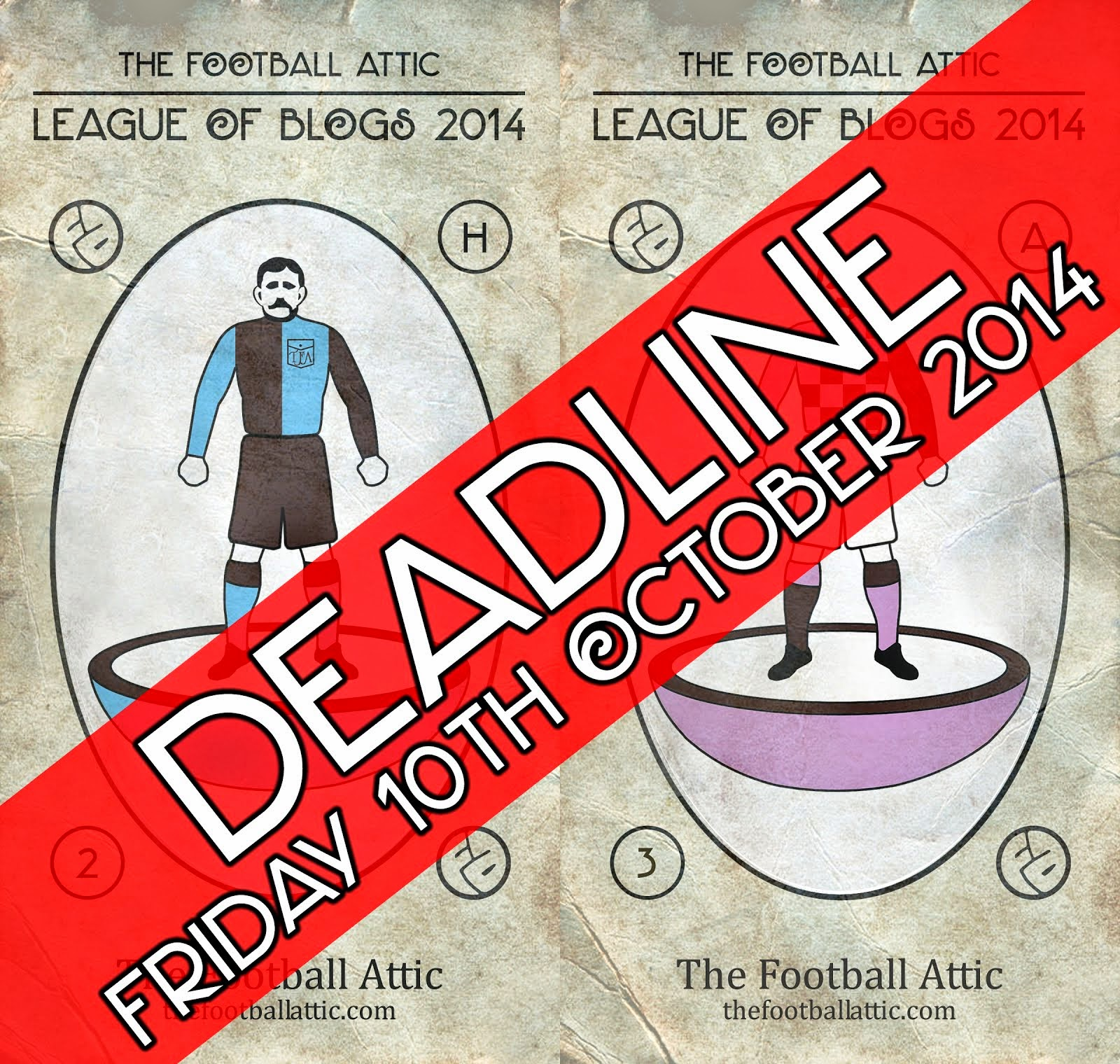 League of Blogs 2014 Deadline