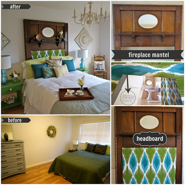 Diy bedroom ideas pinterest then i upholstered it with