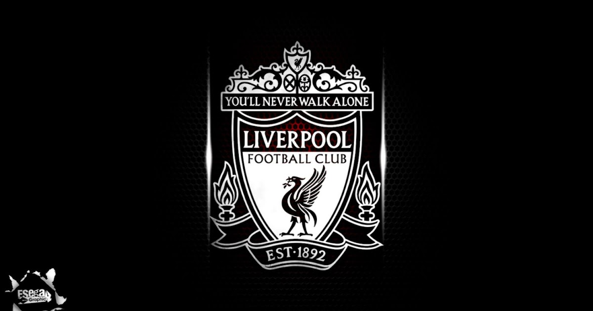 Liverpool Fc Black Logo Hd | All Wallpapers Desktop