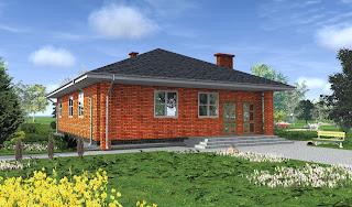 Дом с навесом
