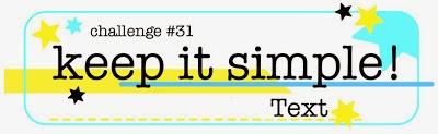 http://kis-challenge.blogspot.com.au/2014/01/keep-it-simple-31.html