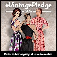 Vintage Pattern Pledge