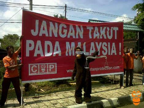 Pembantai Orangutan harus dihukum berat