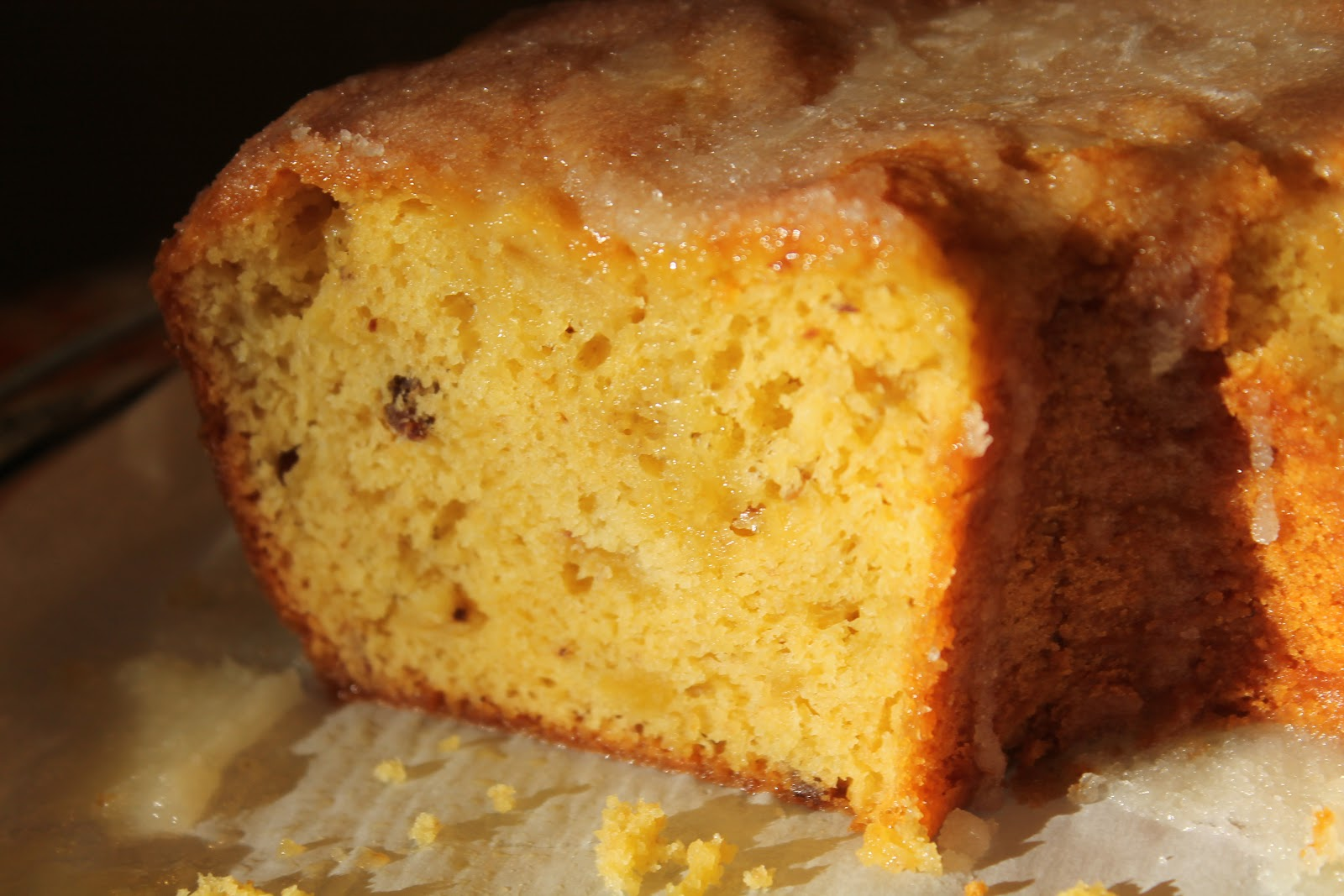 Years ago I found a very easy rum cake recipe that tastes much like ...