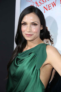 Famke Janssen at the Hollywood red carpet premiere of Hansel and Gretel