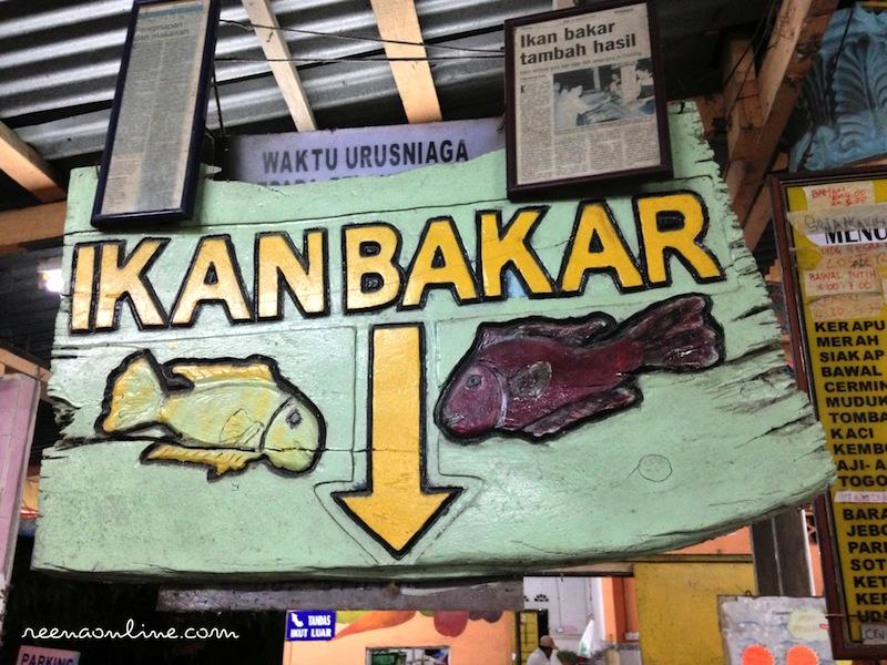 Reena S Online Warung Awang Ikan Bakar Cherating