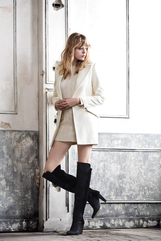 Paula Cahen D'Anvers otoño invierno 2014. Tapados 2014. Moda invierno 2014.