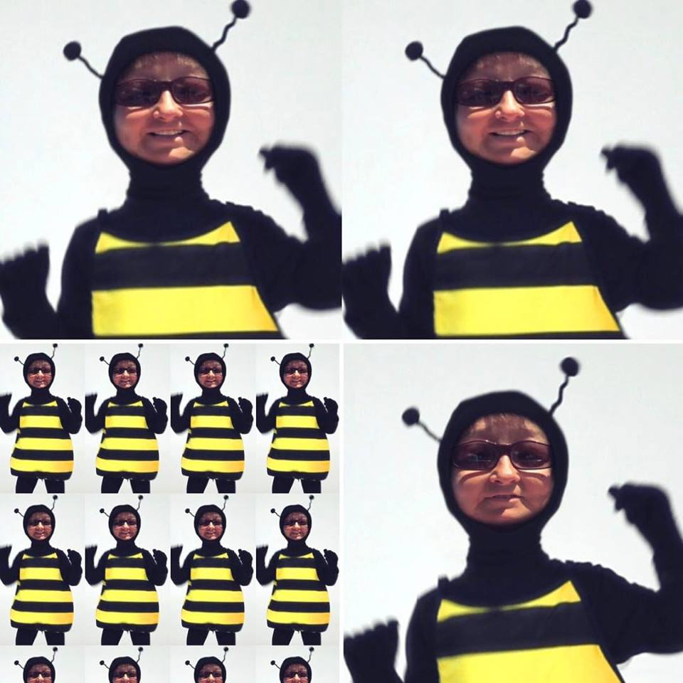 Click ME as a Bee!