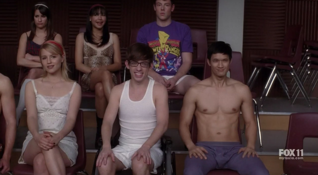 Glee Underwear In the popular show   Glee