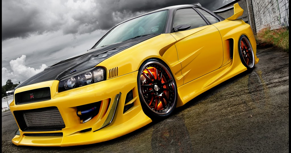 SPORTS CARS: NISSAN skyline GTR r34 wallpaper