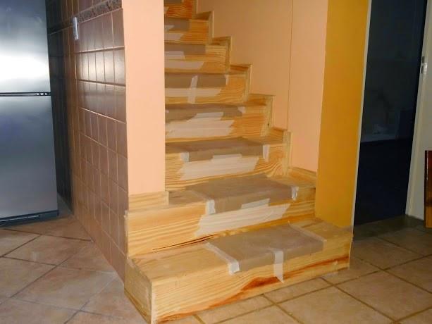 Entrepisos de madera escaleras revestimiento de escalera Revestimiento de hormigon