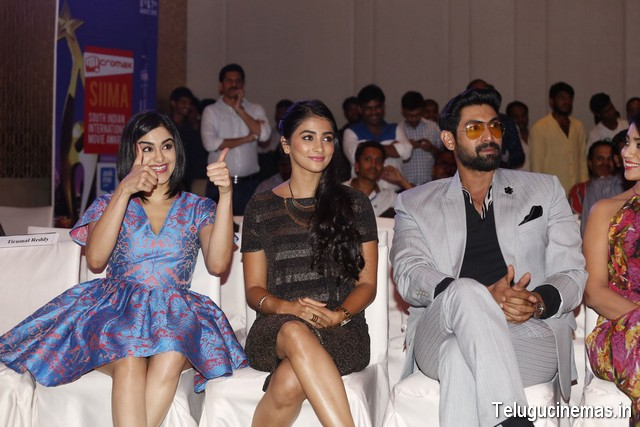 South Indian International Movie Awards(SIIMA) 2015 press meet at Hyderabad-2 Siima 2015 Awards Pressmeet Photos,South Indian International Movie Awards 2015 photos,South Indian International Movie Awards(SIIMA) 2015 press meet photos,South Indian International Movie Awards(SIIMA) 2015 press meet at Hyderabad photos,South Indian International Movie Awards(SIIMA) 2015 press meet image gallery,South Indian International Movie Awards(SIIMA) 2015 press meet photo gallery,South Indian International Movie Awards(SIIMA) 2015 press meet Telugucinemas.in,South Indian International Movie Awards(SIIMA) 2015 press meet stills,South Indian International Movie Awards(SIIMA) 2015 press meet Telugucinemas.in,South Indian International Movie Awards(SIIMA) 2015 press meet news,South Indian International Movie Awards(SIIMA) 2015 press meet ,Celebrities at South Indian International Movie Awards(SIIMA) 2015 press meet ,Telugucinemas.in ,Rana at South Indian International Movie Awards(SIIMA) 2015 press meet ,Shriya at South Indian International Movie Awards(SIIMA) 2015 press meet ,Kriti Karbanda South Indian International Movie Awards(SIIMA) 2015 press meet ,Pooja Hedge South Indian International Movie Awards(SIIMA) 2015 press meet