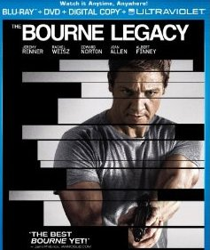 The Bourne Legacy DVD Blu-Ray