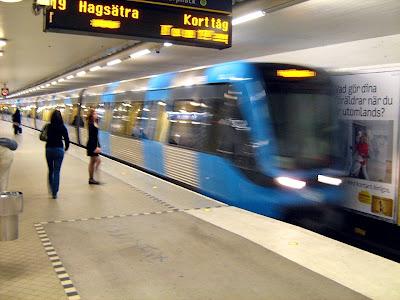 Metropolitana a Stoccolma