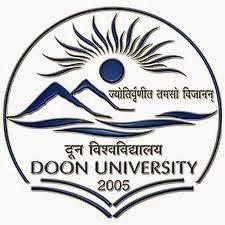 Doon University Dehradun Recruitment 2014