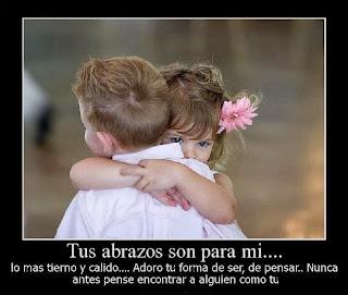 Frases De Amor: Tus Abrazos Son Para Mi Lo Mas Tierno Y Cálido Adoro Tu Forma De Ser De Pensar