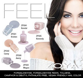 Zoya Nail Polish: Feel Collection