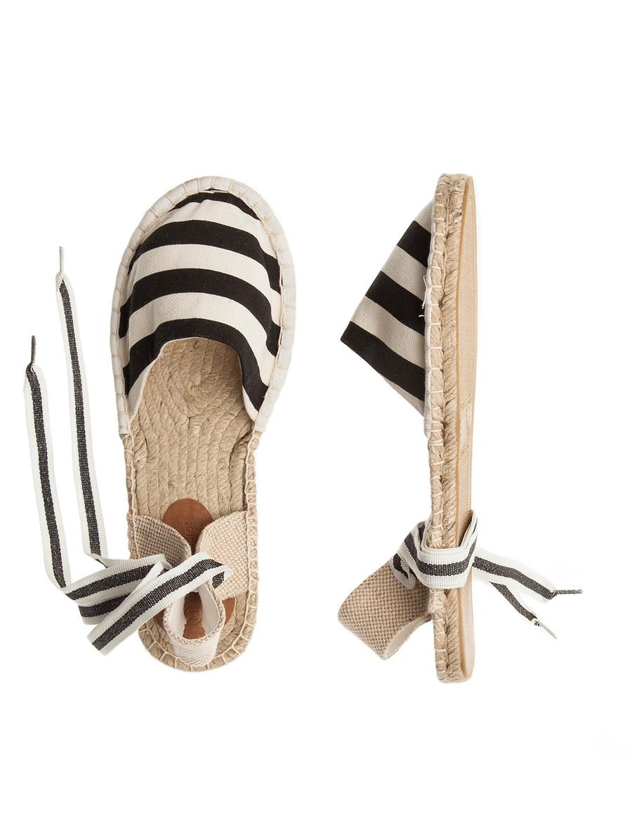 Womens Secret alpargatas rayas. Women Secret zapatos. Women Secret espadrilles rayas. Women Secret