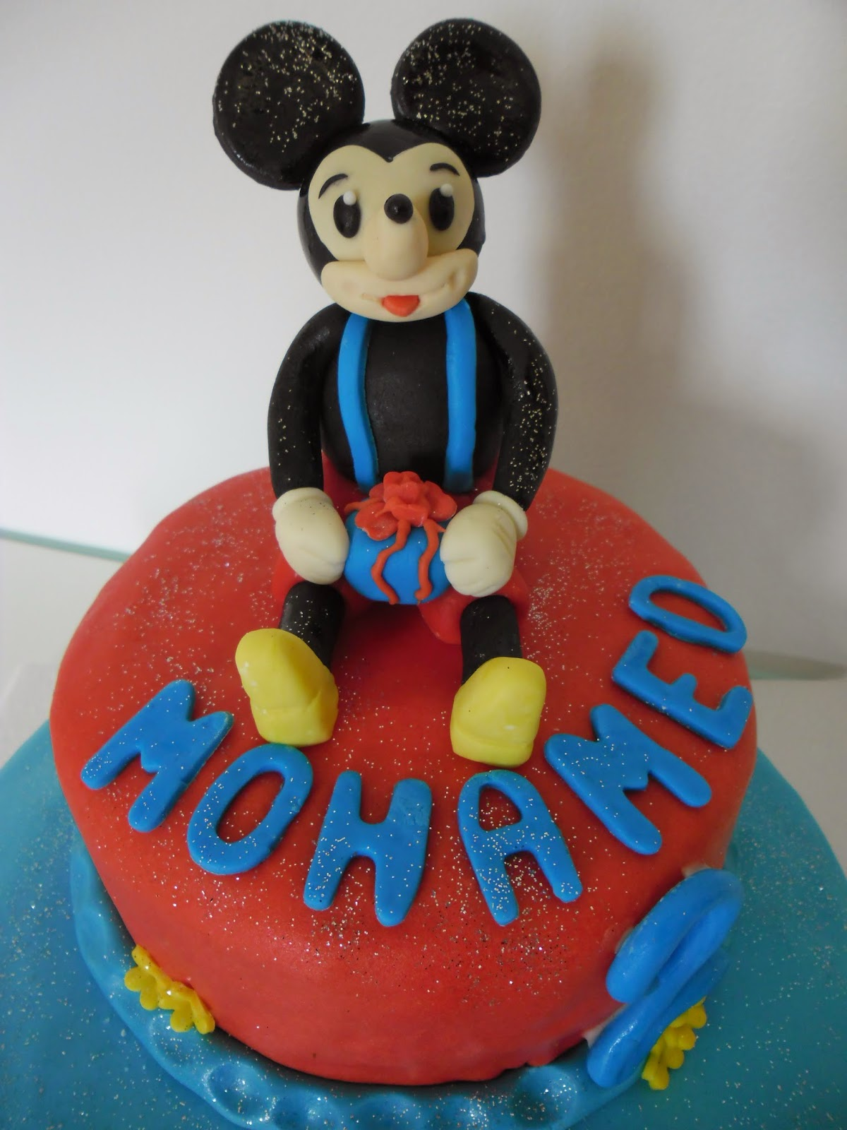 Häufig gâteau d'anniversaire Mickey Mouse | GATEAUX D'ALINE NI65
