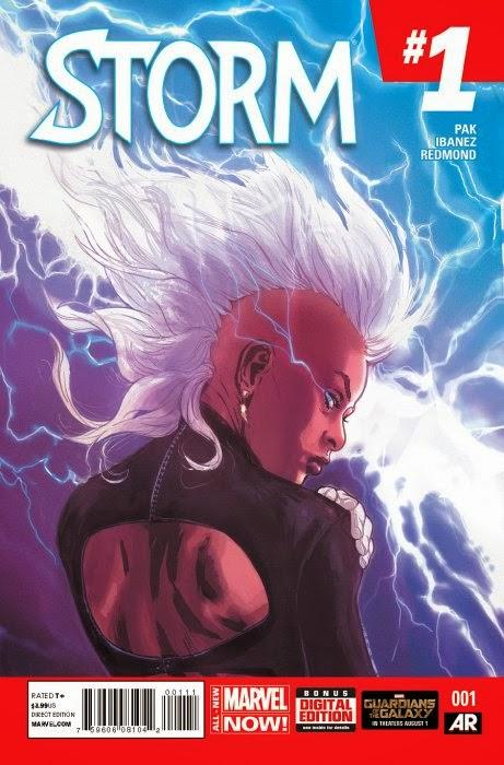 Storm #1 review Cover Art Victor Ibanez Grek Pak Marvel
