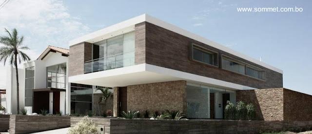 Casa residencial de estilo Contemporáneo en Bolivia