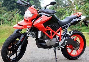 70+ Modifikasi Motor Megapro Terbaru 2014