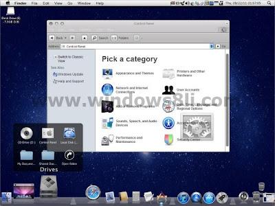Mac-OS Lion Teması