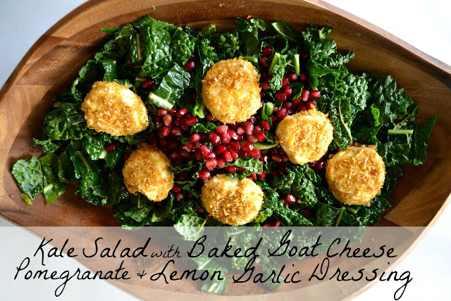 Mommy Testers #CBias, #FreshTake, Baked goat cheese salad recipe, pomegranate salad recipe, Kraft Fresh Take