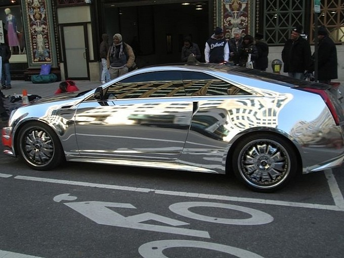 The Obama Car: Chromed Cadillac CTS