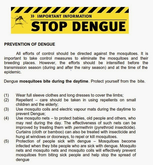 interesting fact about dengue fever