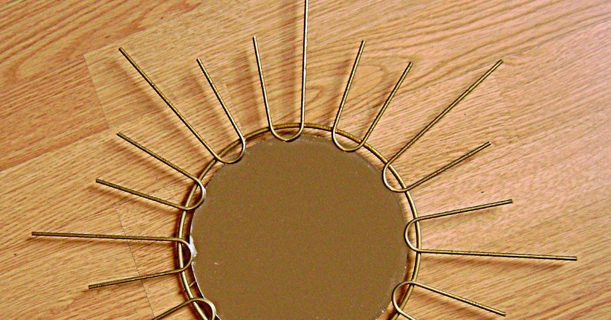 Les trouvailles de lulule biscotte j 39 ai trouv le soleil for Petit miroir soleil