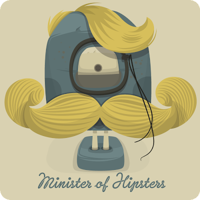 Ministry of Monsters vector illustration