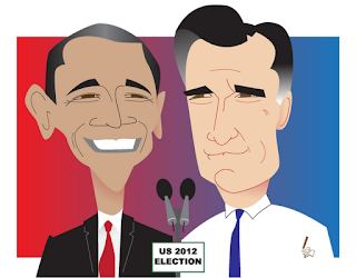Election 2012 Barack Obama v Mitt Romney