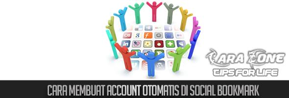 Cara membuat Account otomatis di Social bookmark | Merah