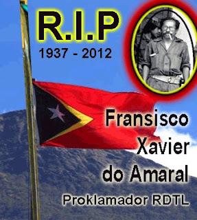 Timor-Leste: Corpo de Xavier do Amaral fica em casa da família até quarta-feira