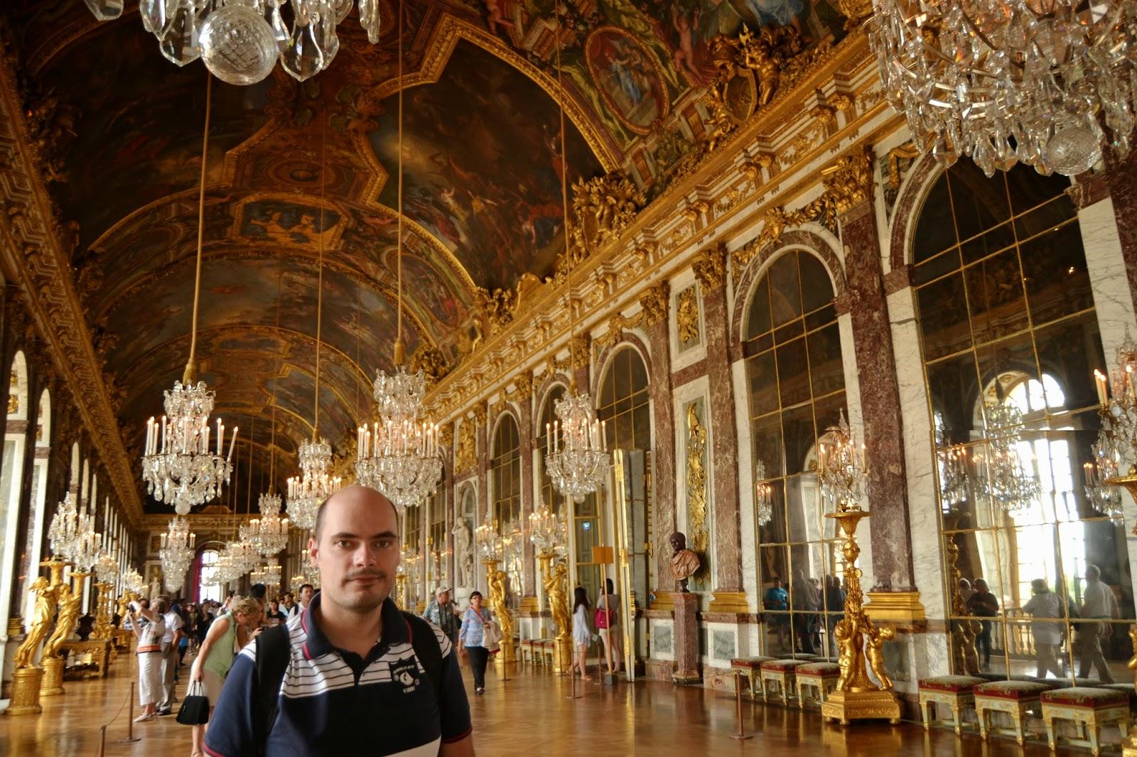 De paseo por europa excursiones desde par s 1 versalles for Salon los espejos