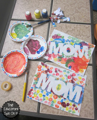 Mouse Paint Activity with Words