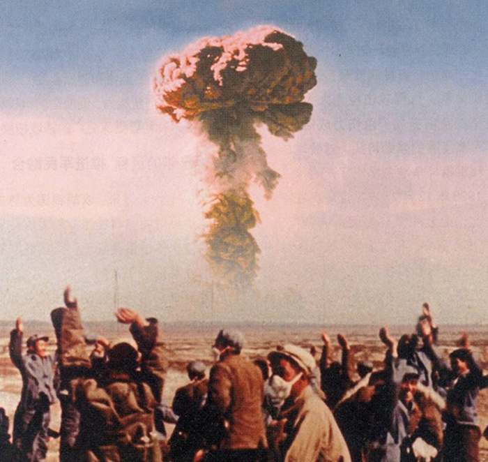 36 Amazing Historical Pictures. #9 Is Unbelievable - The People's Republic of China detonates its first successful atomic bomb on 16 October 1964, joining the United States, the Soviet Union, Great Britain and France in the