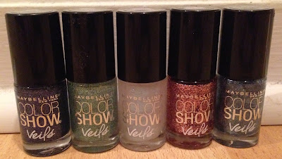 Maybelline, Maybelline Color Show nail polish Veils Collection, Maybelline Amethyst Aura, Maybelline Blue Glaze, Maybelline Crystal Disguise, Maybelline Rose Mirage, Maybelline Teal Beam,  nails, nail polish, nail varnish, nail lacquer, manicure, beauty giveaway, A Month of Beautiful Giveaways