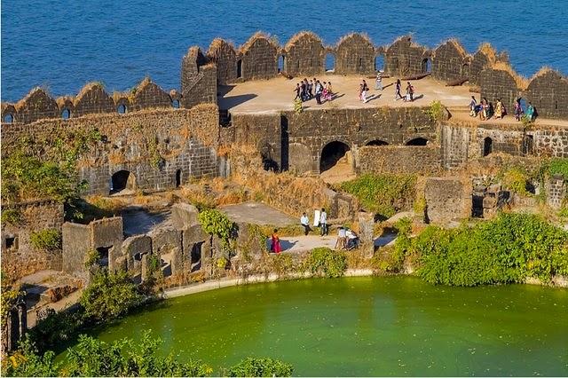 Murud-Janjira fort in Maharashtra