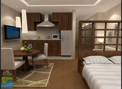 desain interior apartemen tipe 36