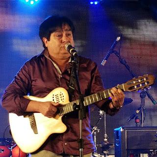 Daniel Torres na Festa da Música de 2015.