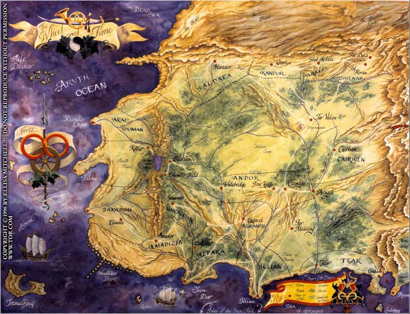 Worldbuilding 101 as taught by robert jordan flight of the dragon wheel of time map gumiabroncs Choice Image