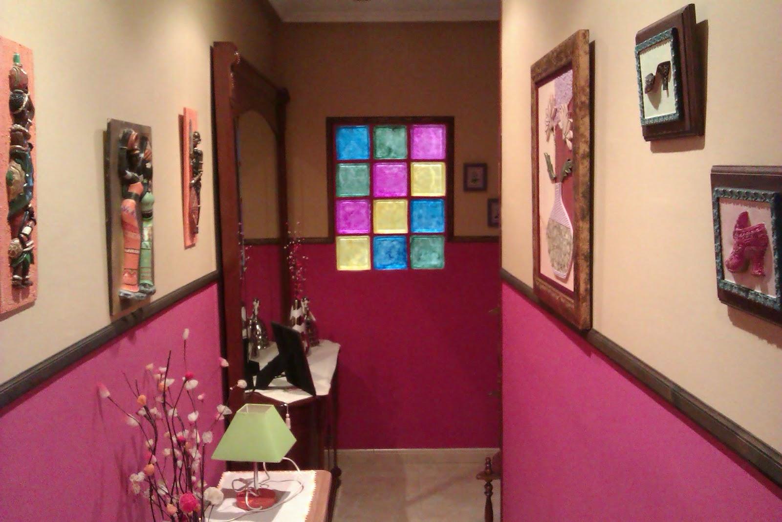 Pinturas y decoraciones ruben obra 5 pintura interior y - Decoracion con pinturas en paredes ...