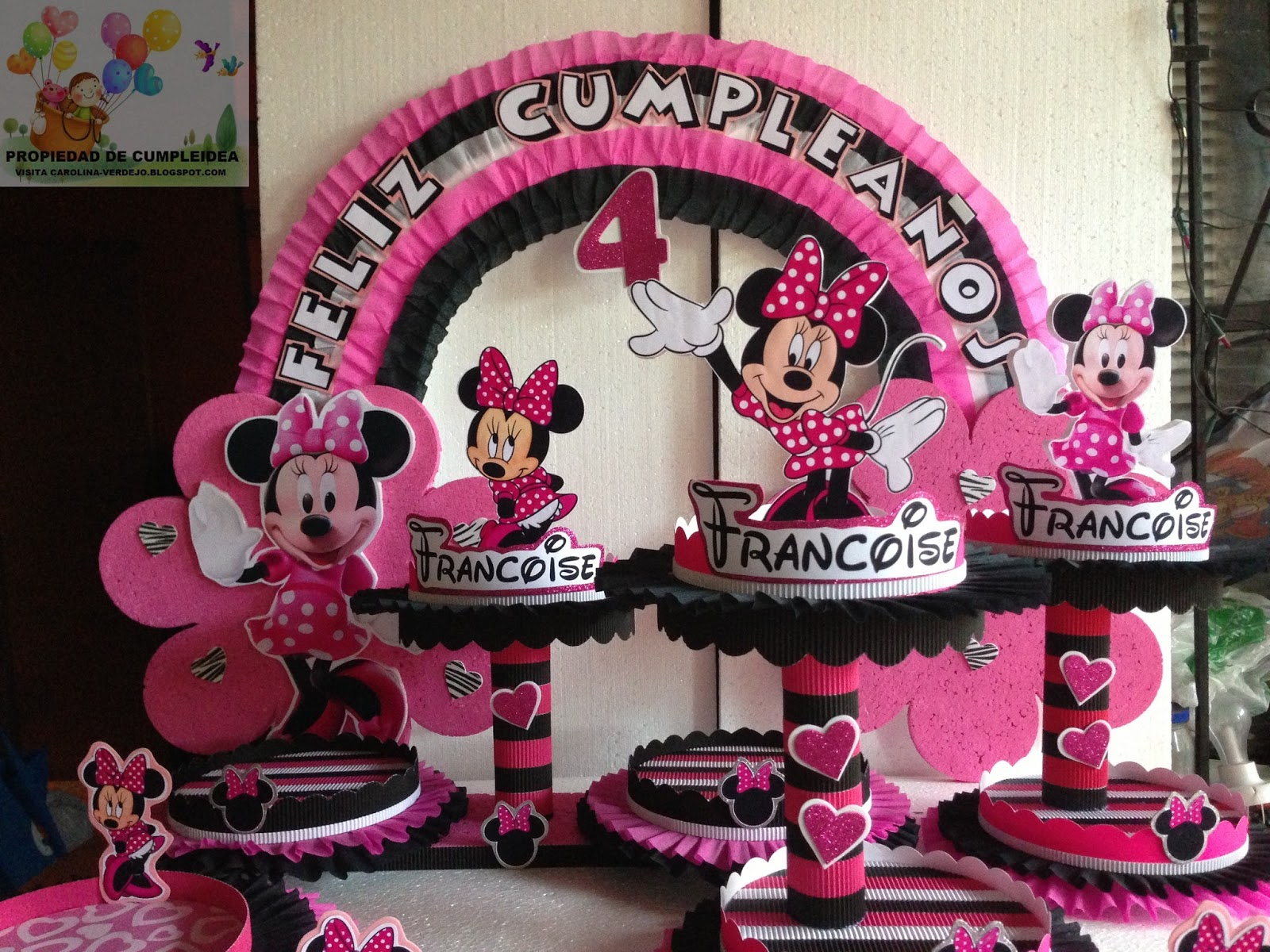 DECORACIONES INFANTILES: minnie mouse